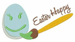 Easter Happy embroidery design