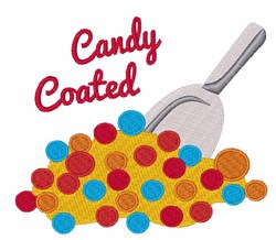 Candy Coated embroidery design