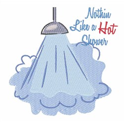 Hot Shower embroidery design