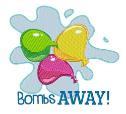 Bombs Away! embroidery design