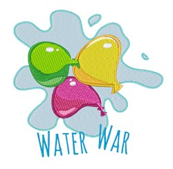 Water Wat embroidery design