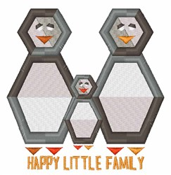 Little Family embroidery design