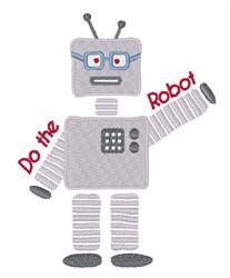 Do the Robot embroidery design
