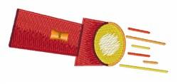 Flashlight embroidery design