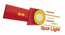 Spot Light embroidery design