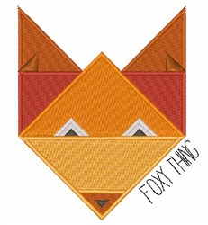 Foxy Thing embroidery design