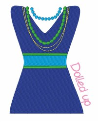 Dolled Up embroidery design
