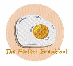 Perfect Breakfast embroidery design