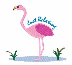 Just Relaxing embroidery design