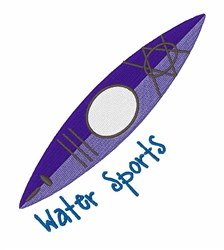 Water Sports embroidery design
