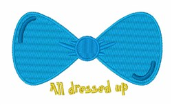 All Dressed Up embroidery design