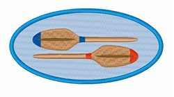 Boat Oars embroidery design