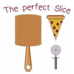 Perfect Slice embroidery design