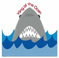 King Of Ocean embroidery design