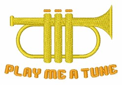 Play A Tune embroidery design