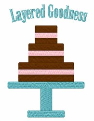 Layered Goodness embroidery design
