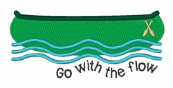Go With Flow embroidery design