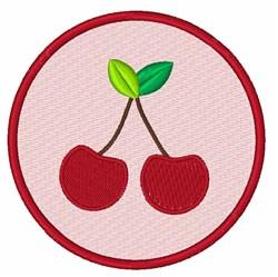 Cherries embroidery design