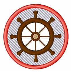 Ship Wheel embroidery design