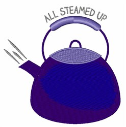 All Steamed Up embroidery design