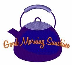 Good Morning Sunshine embroidery design