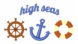 High Seas embroidery design