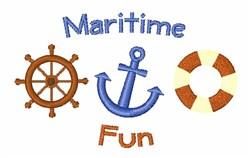 Maritime Fun embroidery design