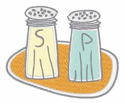 Salt And Pepper embroidery design