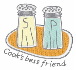Cooks Best Friend embroidery design