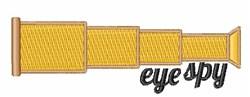 Eye Spy embroidery design
