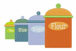 Ingredients embroidery design