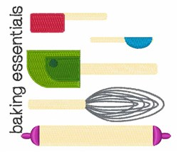 Baking Essentials embroidery design