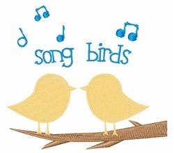 Song Birds embroidery design