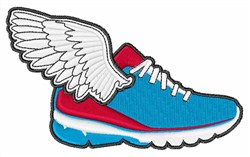 Flying Shoe embroidery design