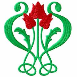 Art Nouveau Design 2 embroidery design