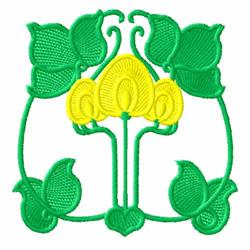 Art Nouveau Design 11 embroidery design