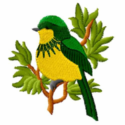 Bird 3 embroidery design