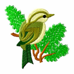 Bird 4 embroidery design