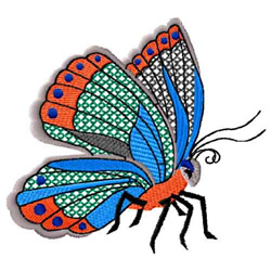 Butterfly 8 embroidery design