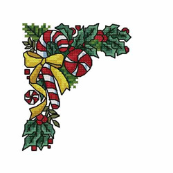 Christmas-candy-cane2 embroidery design