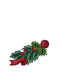 Christmas-greens-p2 embroidery design
