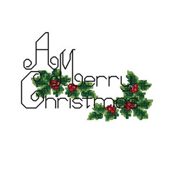 Merry Christmas 2 embroidery design