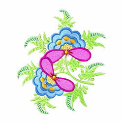 Fantasy Flowers-01 embroidery design