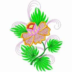 Fantasy Flowers-03 embroidery design