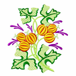 Fantasy Flowers-04 embroidery design