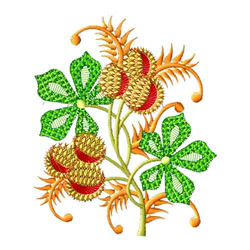 Fantasy Flowers-08 embroidery design