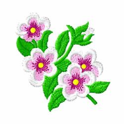 Violas embroidery design