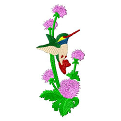 Hummingbirds-01 embroidery design