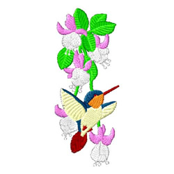 Hummingbirds-06 embroidery design