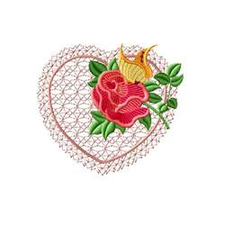 Rose Romance 2 embroidery design